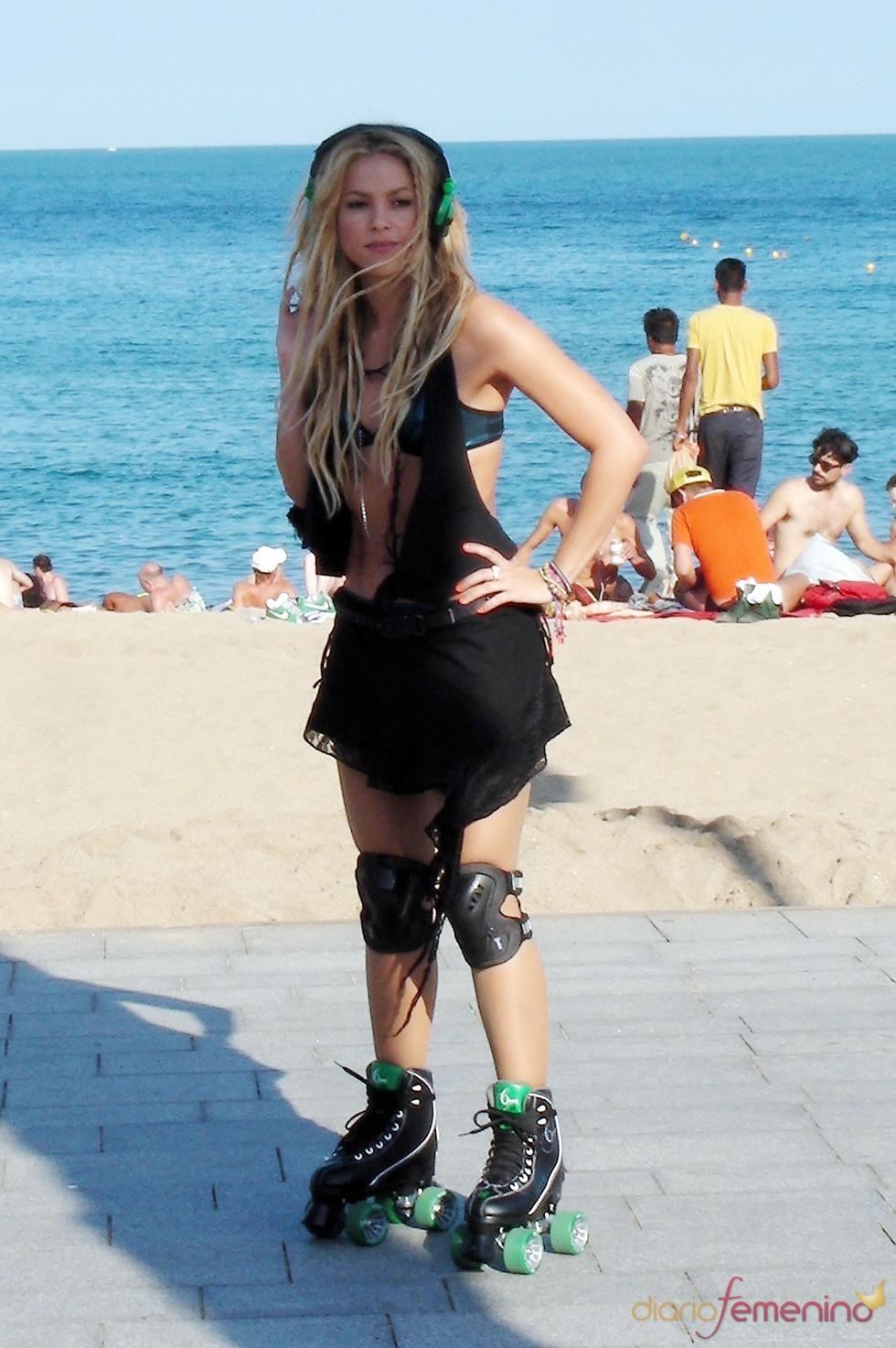 Shakira rueda el primer videoclip de su disco 'Sale el sol'