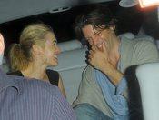 Kate Winslet y Louis Dowler, de fiesta en Londres