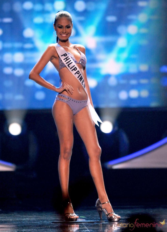 Venus Raj, de Filipinas, en la gala Miss Universo 2010