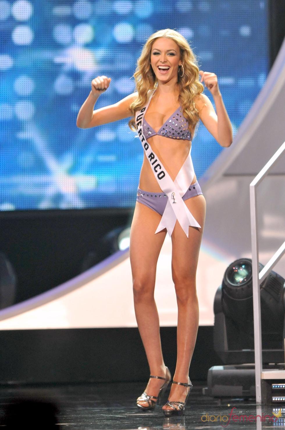 Mariana Paola Vicente, finalista en Miss Universo 2010