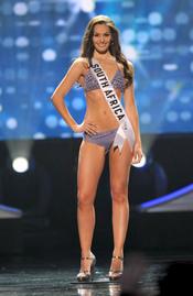 Nicole Flint, finalista en Miss Universo 2010