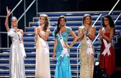 Las 5 finalistas de Miss Universo 2010