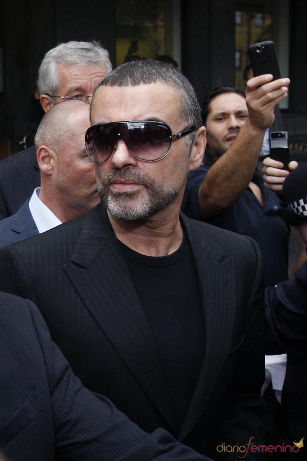 George Michael en la corte de Londres