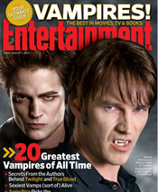 Stephen Moyer y Robert Pattinson, dos chicos de revista