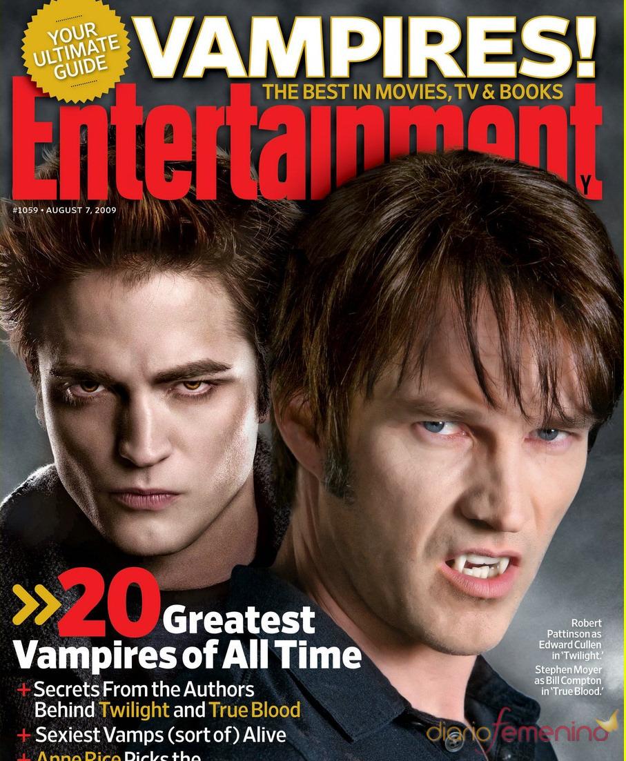 Stephen Moyer y Robert Pattinson, dos chicos de revista