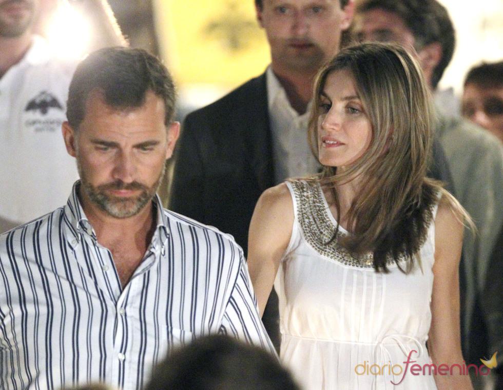 Felipe y Letizia de fiesta pre-boda