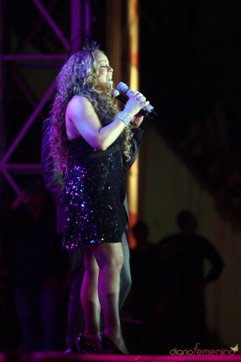 Mariah Carey: embarazada o con sobrepeso