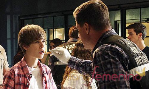 Justin Bieber en 'CSI Las Vegas'