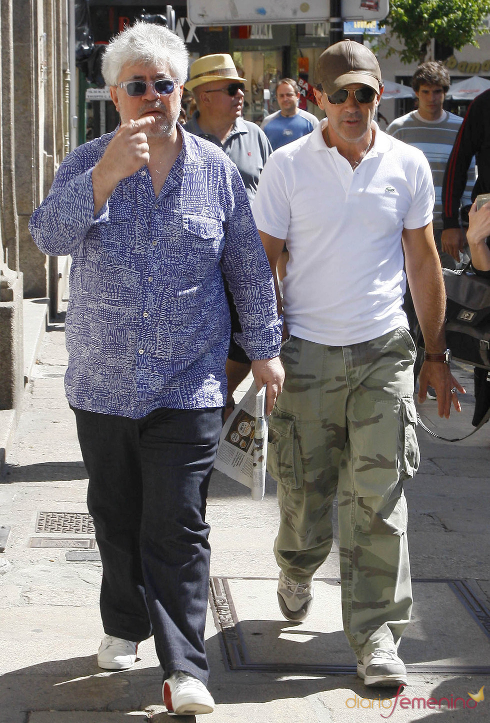 Pedro Almodóvar y Antonio Banderas ruedan 'La piel que habito'