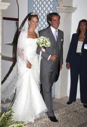 La emotiva boda de Nicolás de Grecia y Tatiana Blatnik
