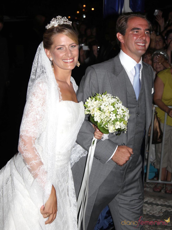 La boda de Nicolás de Grecia y Tatiana Blatnik en en la pintoresca isla griega de Spetses