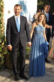 Los Príncipes de Asturias en la boda de Nicolás de Grecia