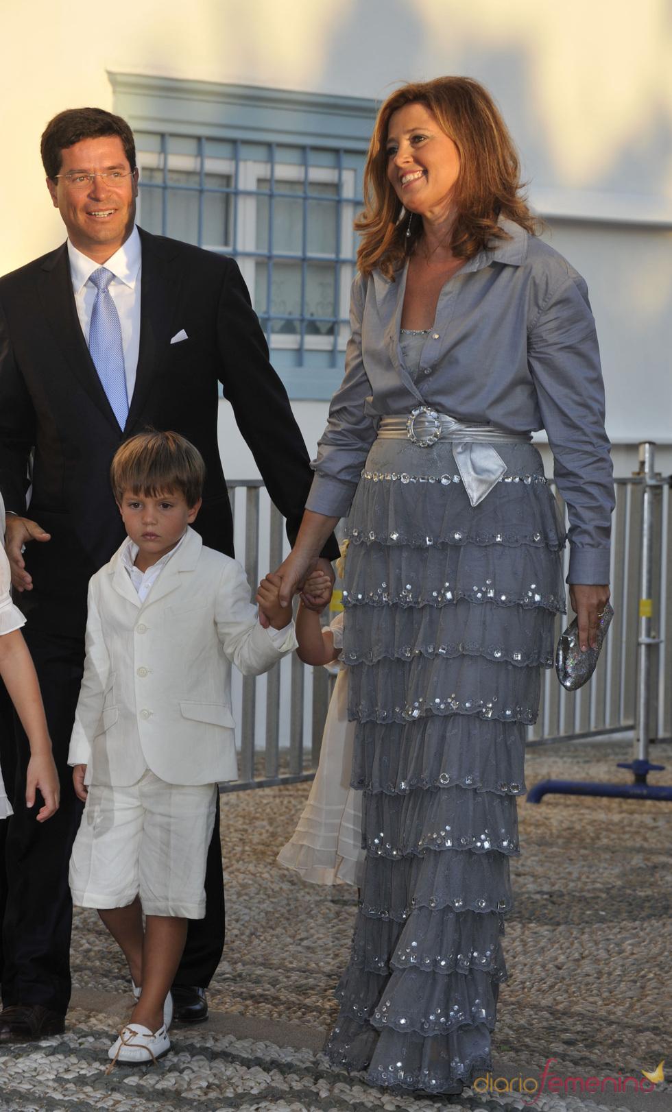 La princesa Alexía de Grecia en la boda real griega