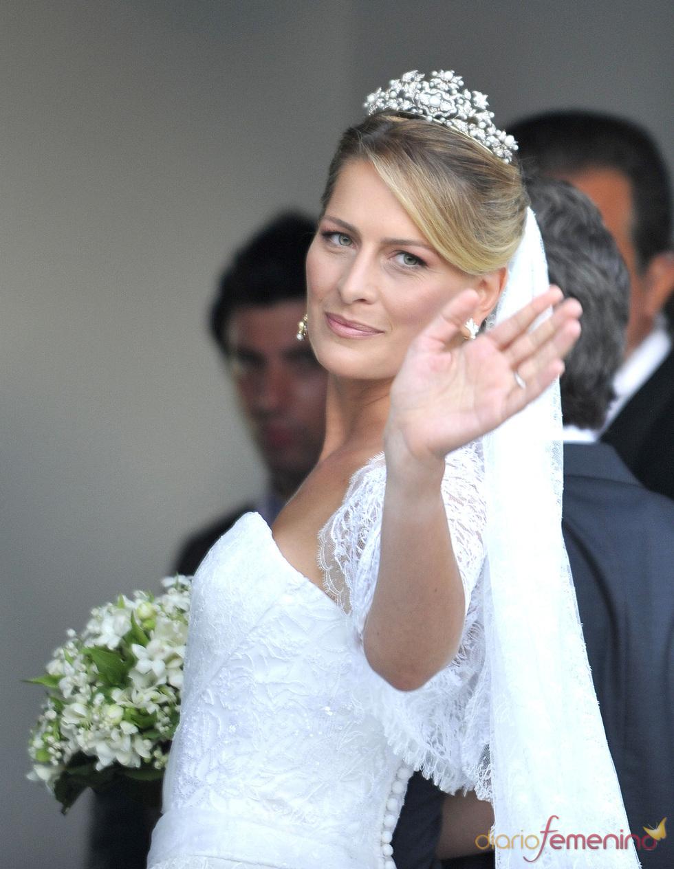 La novia Tatiana Blatnik