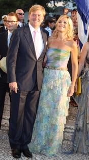 Príncipe Guillermo Alejandro y la princesa Máxima de Holanda