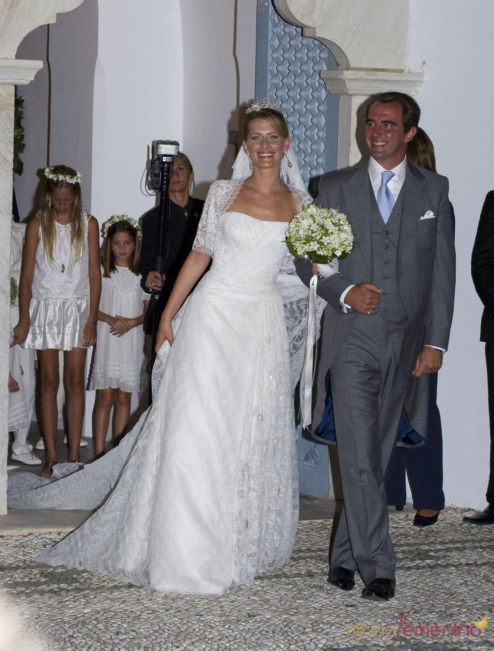 La boda real griega de Nicolás de Grecia y Tatiana Blatnik