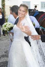 El vestido de novia de Tatiana Blatnik en la boda real griega