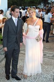 Felipe de Edimburgo y Teodora de Grecia, juntos de boda