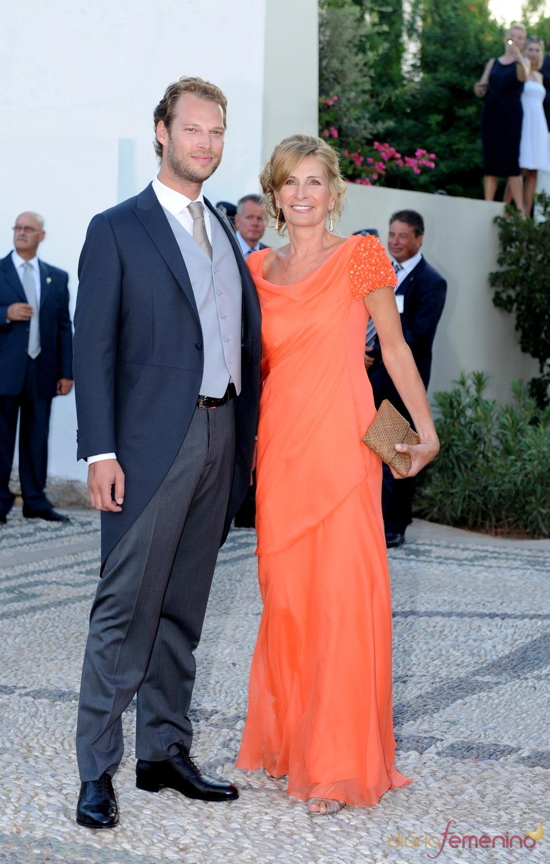 Boris Blatnik y Marie Blanche en la boda de Nicolás y Tatiana