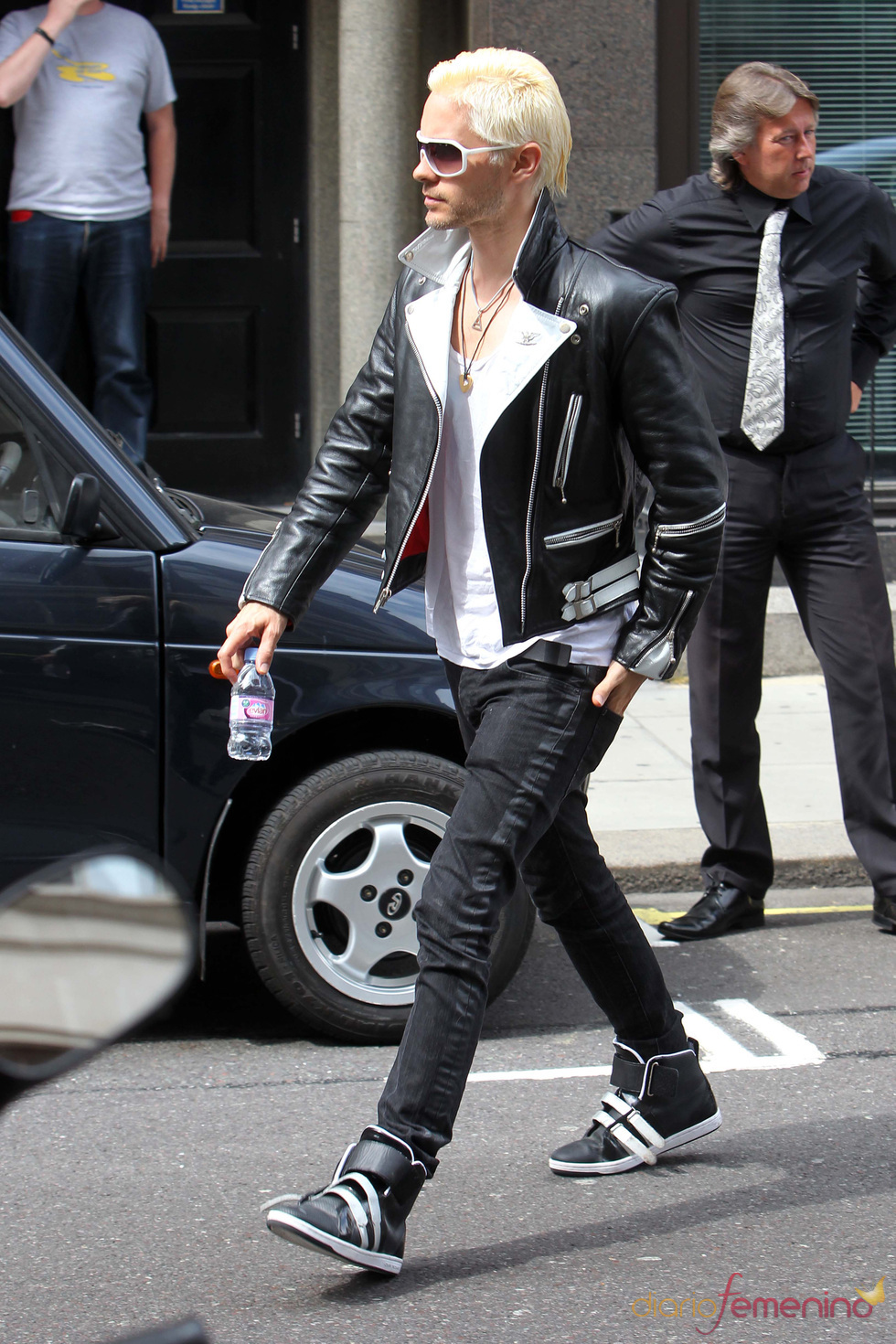Jared Leto de '30 Seconds to Mars' en Londres