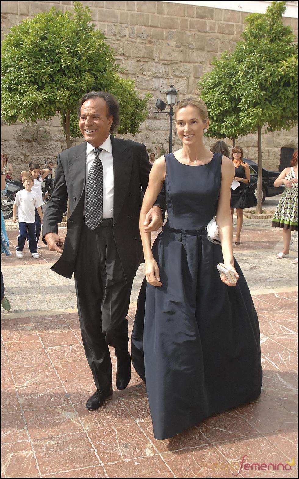 Julio Iglesias y Miranda se casan