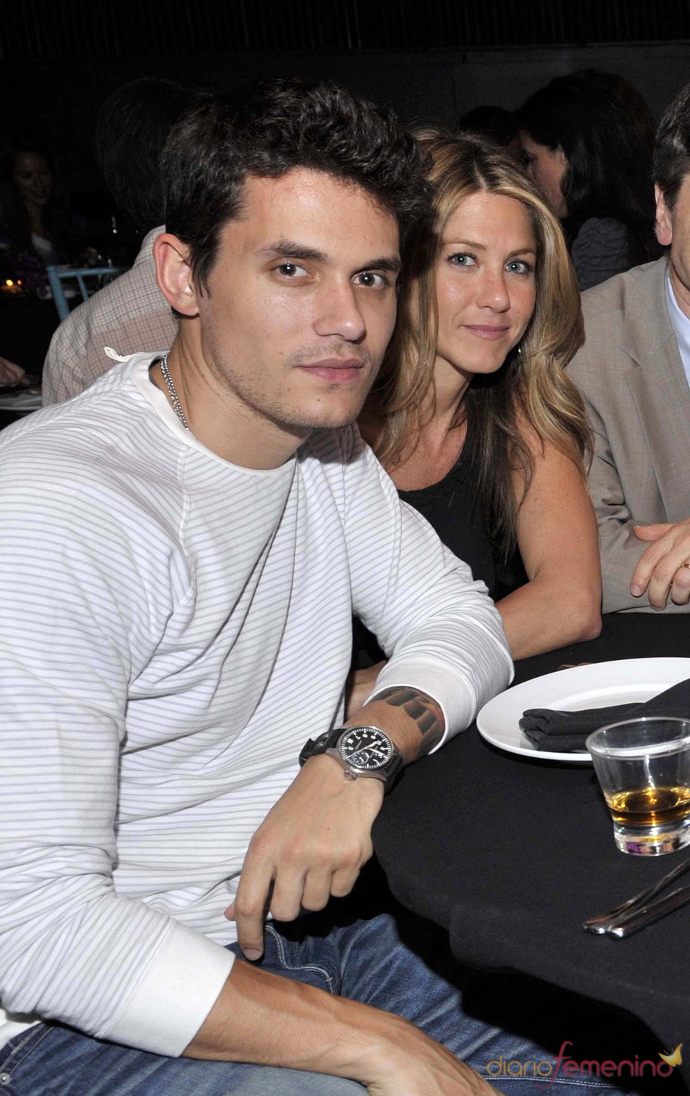 Jennifer Antiston y John Mayer, juntos de cena