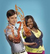 Chris Colfer y Amber Riley en la nueva temporada de 'Glee'