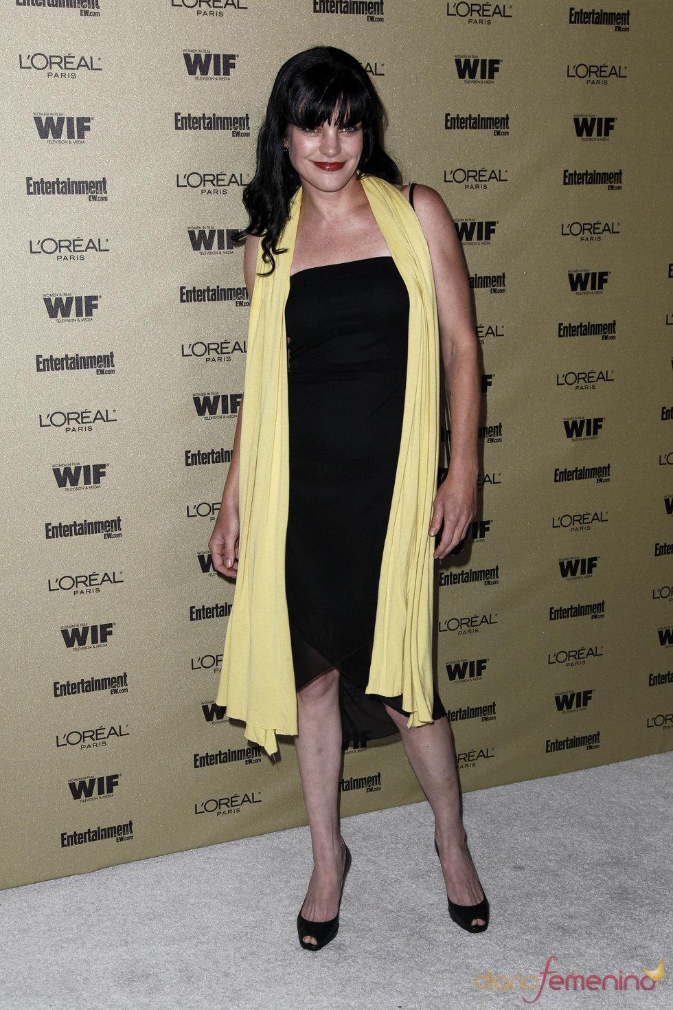 Pauley Perrette en la fiesta previa de los Premios Emmy 2010