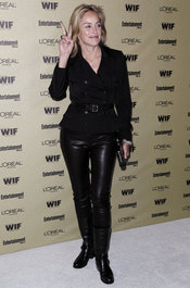 Sharon Stone en la fiesta previa de los Premios Emmy 2010