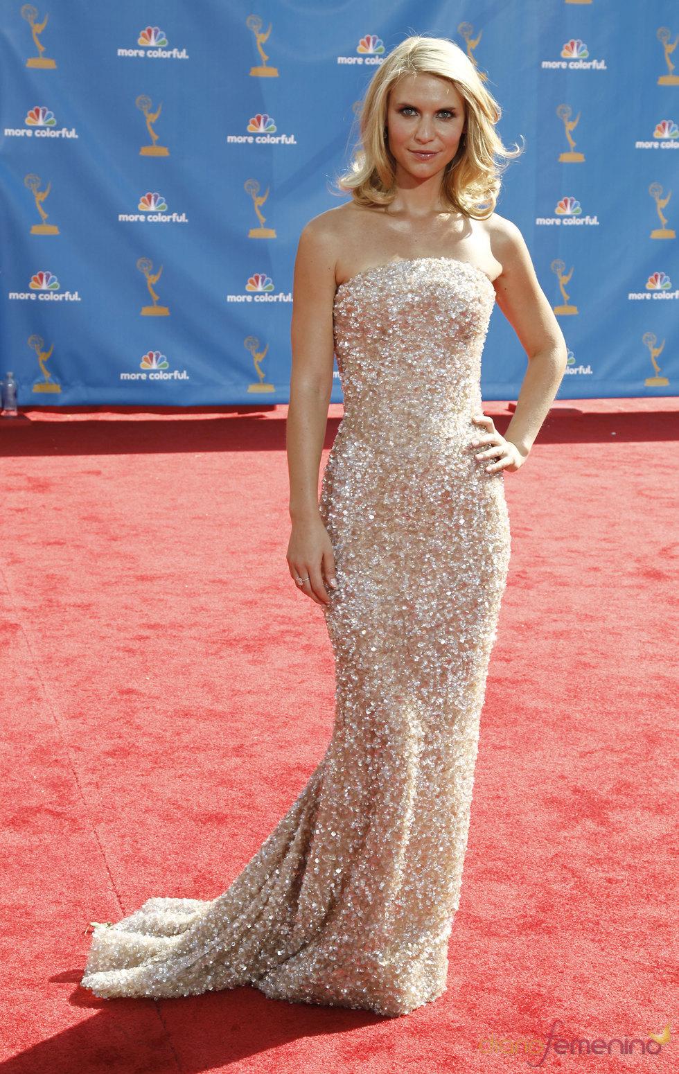 Claire Danes en los premios Emmy 2010