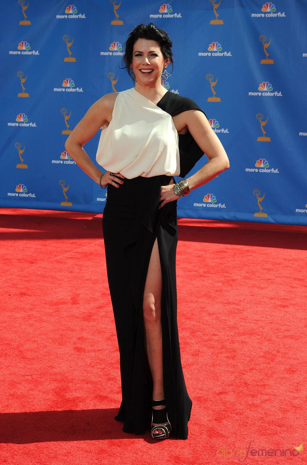Lauren Graham en los premios Emmy 2010