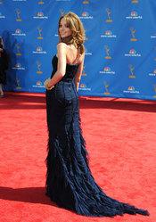 Jayma Mays de 'Glee' en los Premios Emmy 2010