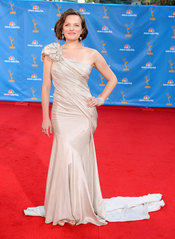 Elisabeth Moss de 'Mad Men' en los Premios Emmy 2010
