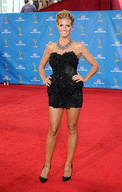 Heidi Klum en los Premios Emmy 2010
