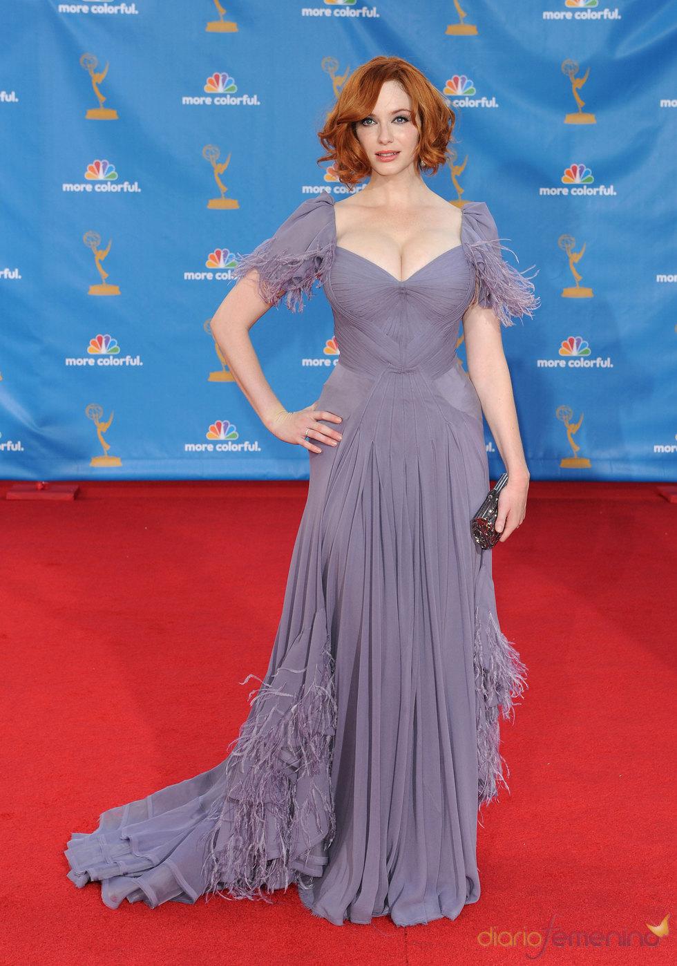 Christina Hendricks de 'Mad Men' en los Premios Emmy 2010