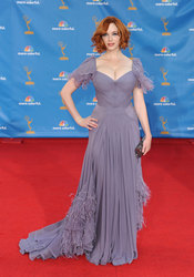Christina Hendricks de 'Mad Men' en los Premios Emmy 2010