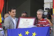 Iker Casillas en el pueblo de sus padres, Navalacruz