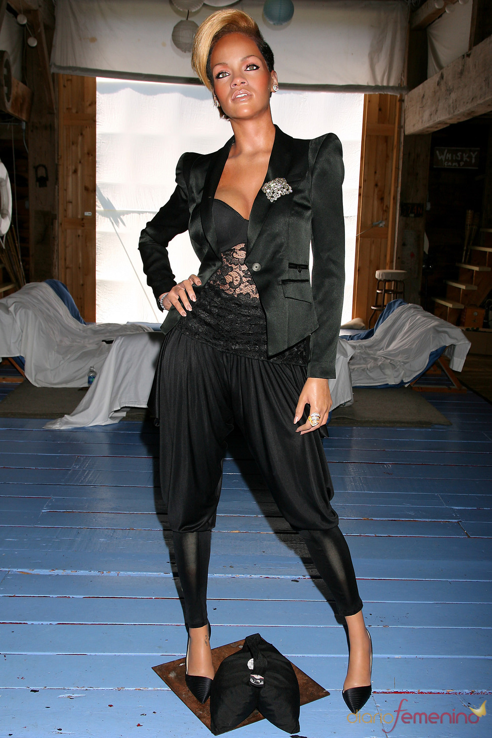 Figura de cera de Rihanna