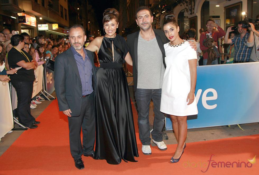 Los actores de 'Águila Roja' estrenan temporada