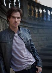 Ian Somerhalder es Damon Salvatore en 'Crónicas vampíricas'