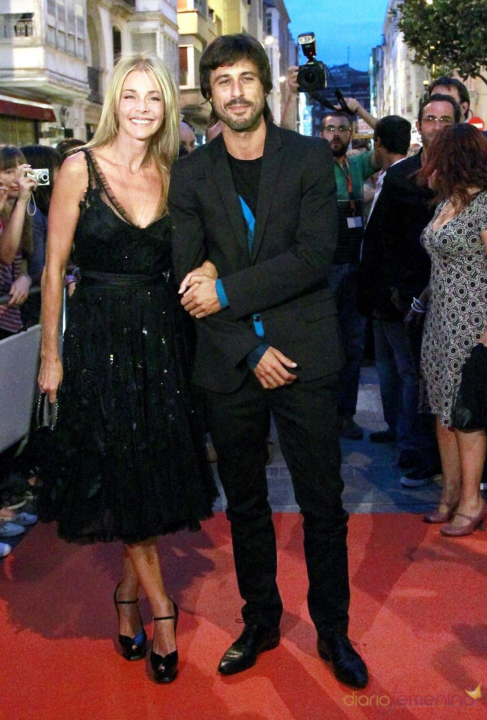 Belén Rueda y Hugo Silva en el Festival de Vitoria