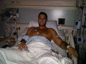 Nick Loeb, novio de Sofía Vergara, en el hospital