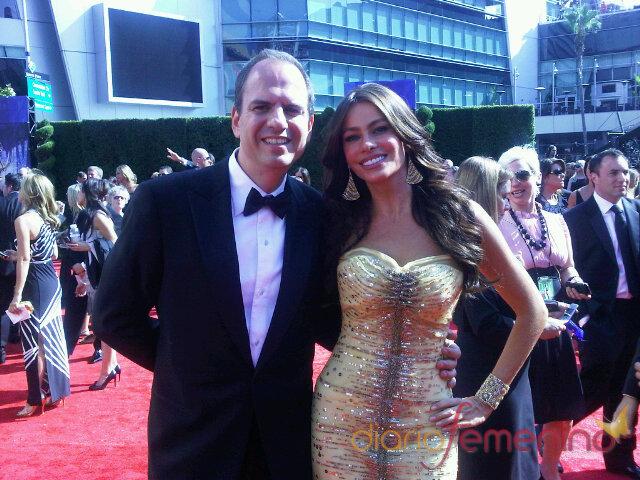 Sofía Vergara en los Emmy 2010