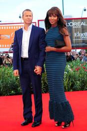 Naomi Campbell y Vladislav Doronin en Venecia