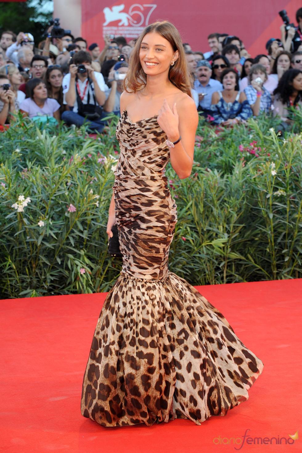 Margareth Made con print de leopardo