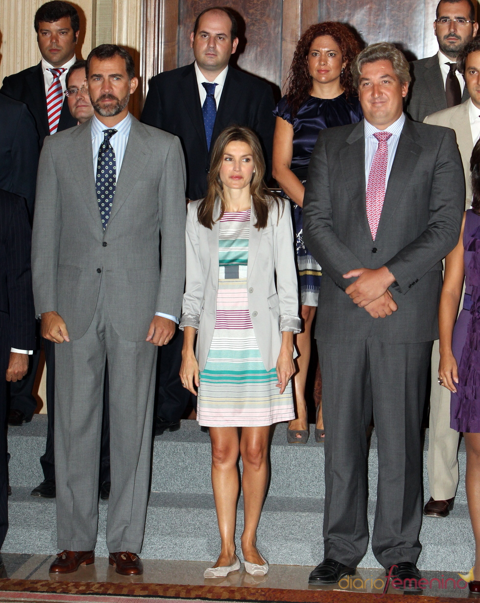 Felipe y Letizia regresan al trabajo tras las vacaciones de verano
