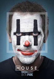 Hugh Laurie convertido en payaso