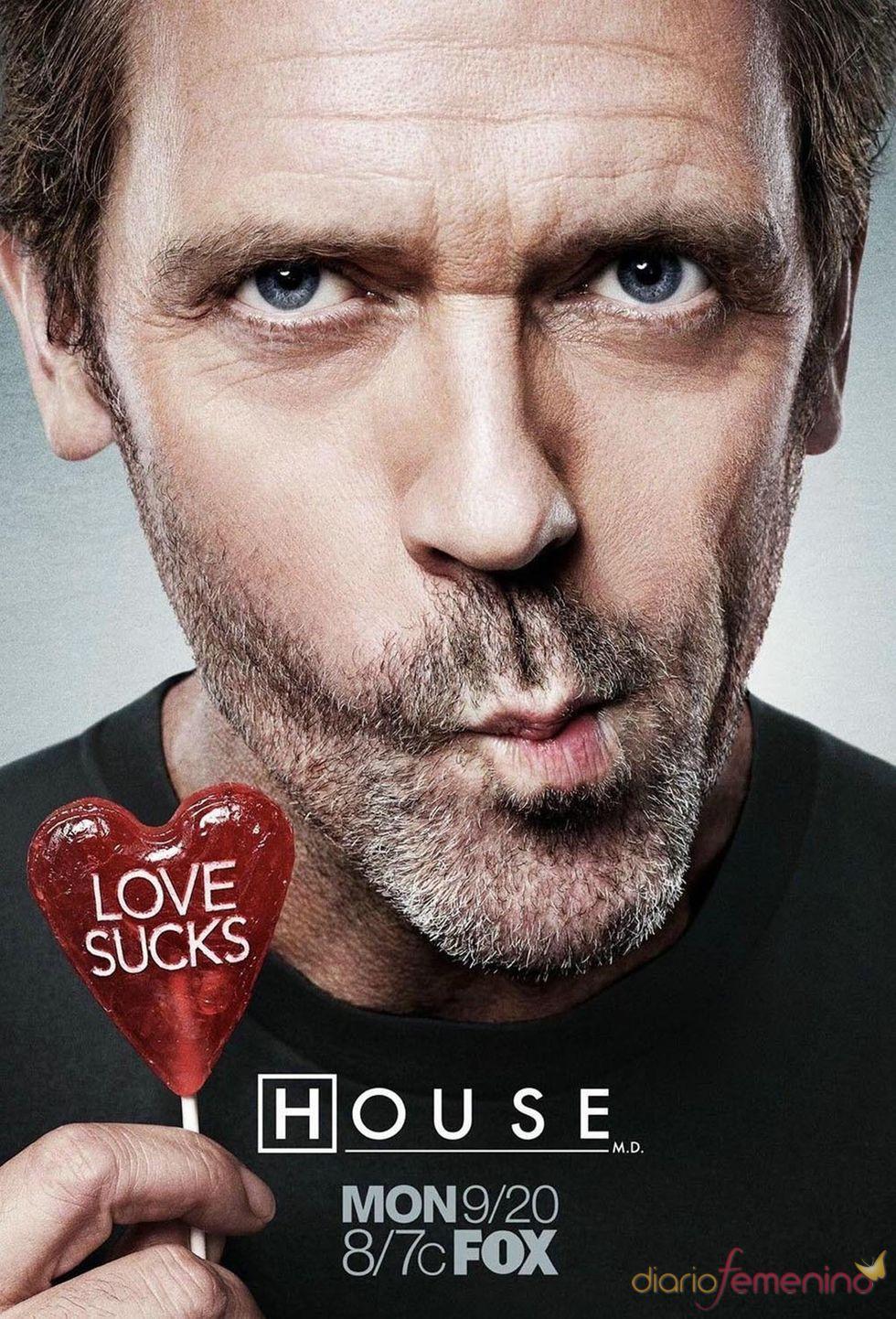 Hugh Laurie es el doctor House