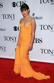 Lea Michele de Glee en los Tony Awards