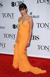 Lea Michele de Glee en los Tony Awards